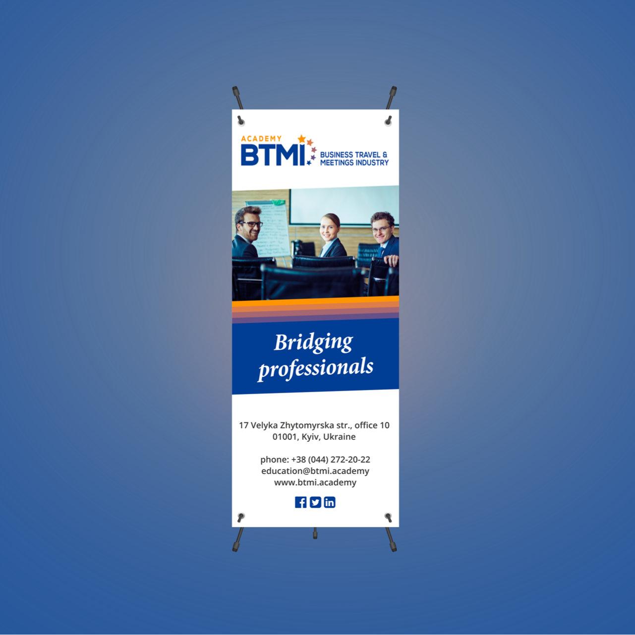 BTMI Banner Print Design