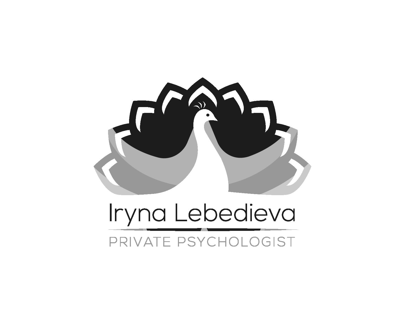 Iryna Lebedieva Logo design 3