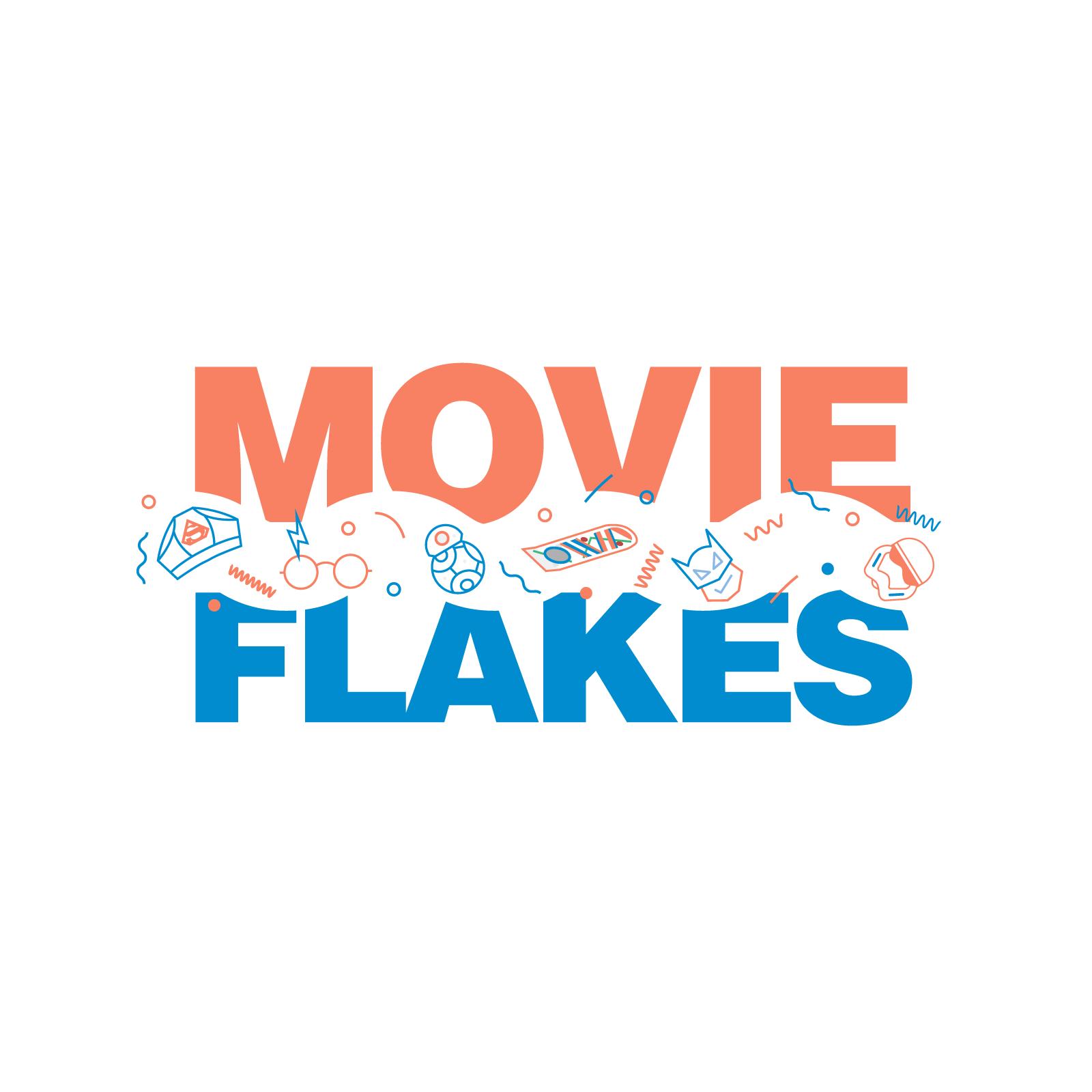 Movie Flakes Logo Design